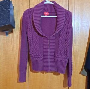 💙Knit shortie sweater cardigan